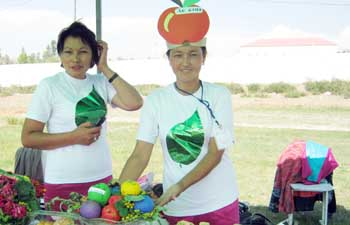 Фруктовый праздник в Киргизии