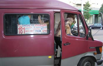 Навести порядок в бишкекских бусиках помогут пассажиры