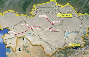 В Казахстане появились две новые железнодорожные магистрали
