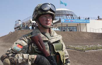 В Казахстане завершились учения КСОР ОДКБ «Взаимодействие-2014»