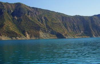 Уровень воды в Нурекском водохранилище достиг максимума