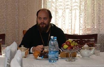 Знакомство с епископом Бишкекским и Кыргызстанским Даниилом