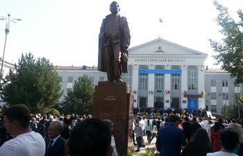 В Бишкеке открыли памятник экс-главе Киргизской ССР