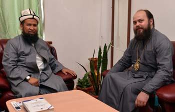 Епископ Даниил посетил Духовное Управление Мусульман