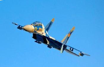 В Казахстане потерпел крушение истребитель Су-27
