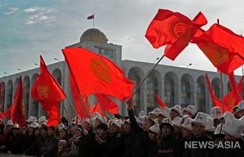 В Киргизии об объединении объявили две крупные партии