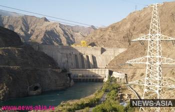 Токтогульская ГЭС в Кыргызстане заработала в полном режиме