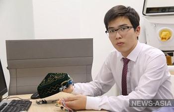 В Казахстане изобрели «умную тюбетейку» для незрячих