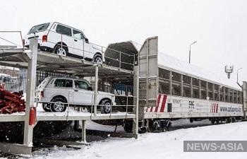 Казахские внедорожники LADA 4x4 покоряют Китай