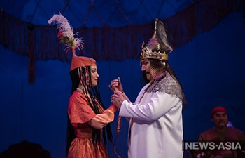 В Бишкеке состоялась премьера возрожденной оперы «Ай-Чурек»