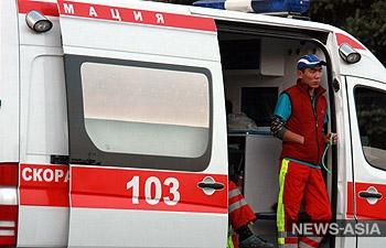 В ДТП с участием маршрутки в столице Киргизии пострадали семь человек