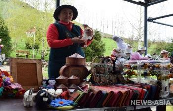 В Киргизии прошел фестиваль-пикник «Дары природы»