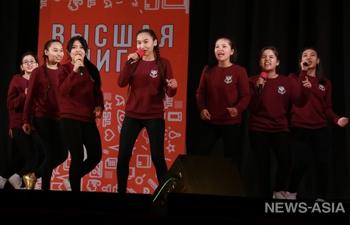 В Бишкеке состоялся финал игр КВН-2017