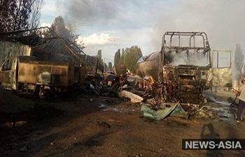В Киргизии ужесточают контроль на всех заправочных станциях после трагедии в Ананьево