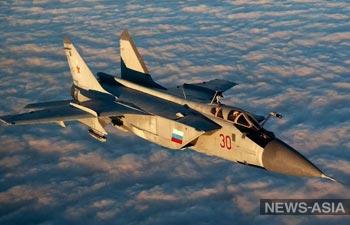 С Урала в Киргизию перебросили звено истребителей-перехватчиков МиГ-31 БМ