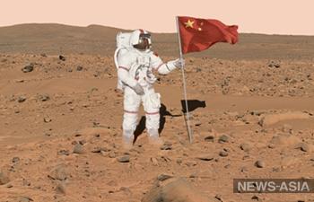 Космические планы Китая: в провинции Цинхай прошло открытие модели марсианской базы