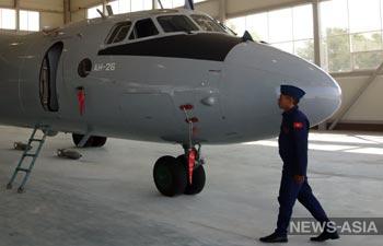Россия передала Киргизии два самолёта Ан-26