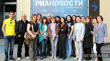Киргизские журналисты прошли стажировку в России