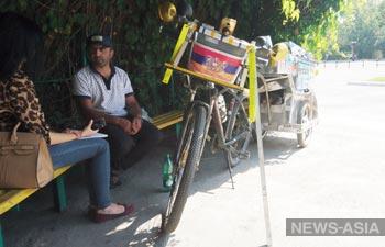 Бишкек посетил путешественник Артур Оганян
