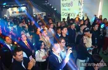 В Бишкеке презентовали Samsung Galaxy Note 8