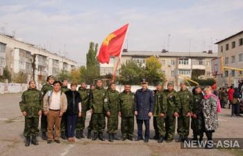 Военные базы в Канте открыли спартакиаду среди лицеев Чуйской области