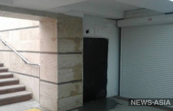 Выкрасить, да выбросить: отреставрированная бишкекская «подземка» не выдержала первого осеннего ливня