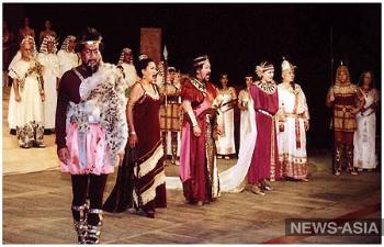 В Киргизии проходит III Международный фестиваль оперного искусства имени народного артиста СССР Булата Минжылкиева
