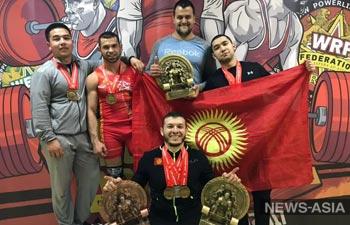 Спортсмены из Киргизии приняли участие в Чемпионате Мира по пауэрлифтингу