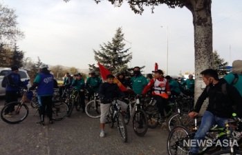 Закрытие теплого велосезона - 2017 в Бишкеке прошло успешно