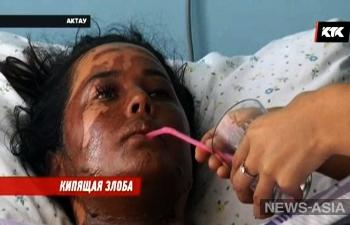 В Казахстане недовольный клиент облил продавщицу кипящим маслом