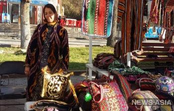 Ремесленники Центральной Азии представили свои изделия на выставке в Бишкеке