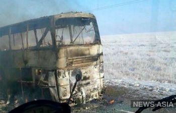 КЧС МВД РК: 52 человека, сгоревших заживо в автобусе, были гражданами Узбекистана
