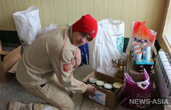 В Киргизии военные базы ОДКБ помогли воспитанникам детского дома «Малыш» и малоимущим семьям Канта