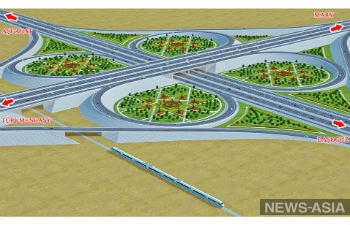 В Туркменистане из-за государственных долгов  прекратили строительство первого в стране автобана