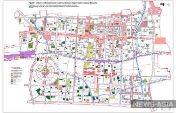 Столицу Киргизии Бишкек перекроят по новому плану детальной планировки