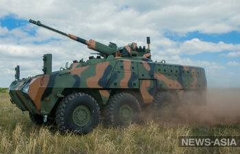 Казахстан вооружится бронетранспортерами собственного производства «Барыс 8х8»