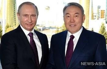 Нурсултан Назарбаев: «Путин сейчас поставил Россию на то место, где она должна быть»
