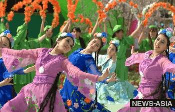 Жители Центральной Азии празднуют весенний Новый год – Навруз