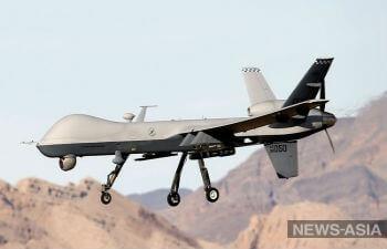 В столице Туркменистана рухнул дрон-шпион?