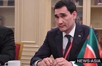 Сын президента Туркменистана  Сердар Бердымухамедов стал депутатом парламента