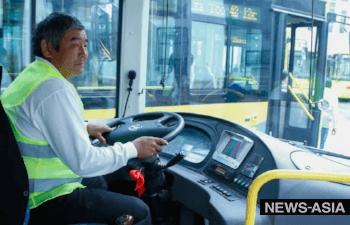 В Бишкеке  забастовка водителей маршрутных такси продолжается, бастующими интересуется ГКНБ