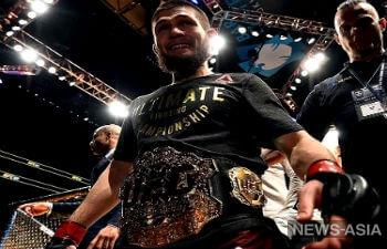 Хабиб Нурмагомедов стал первым российским чемпионом самого престижного промоушена смешанных единоборств – UFC