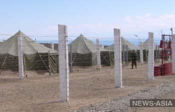 Пограничников Киргизии снабдили видеорегистраторами