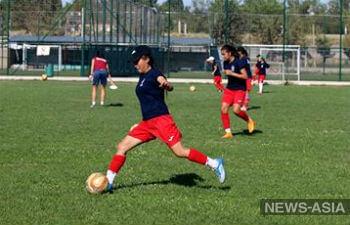 Футболистки Центральной Азии выступят на международном турнире в Киргизии