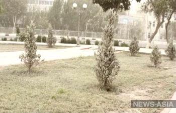 Очередная соляная буря разбушевалась в Туркменистане