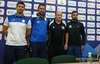 Сборная Киргизии по футболу готова к домашнему матчу с Палестиной