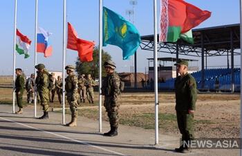 В воде, на земле, в воздухе: в Казахстане проходят военные учения разведчиков ОДКБ