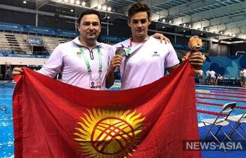 Кыргызские спортсмены привезли с юношеской Олимпиады три медали