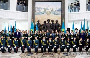 Кадетские классы планируют внедрить во всех  школах Казахстана