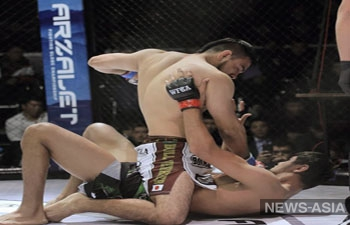 Кыргызстанские бойцы MMA достойно сразились с соперниками из Японии, Кореи и Монголии